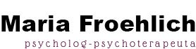 Maria Froehlich - psycholog psychoterapeuta